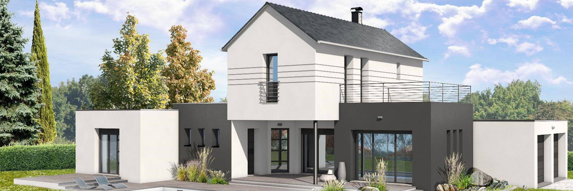 Une belle maison individuelle